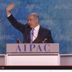 Israeli Prime Minister Benjamin Netanyahu at the 2015 AIPAC policy conference.