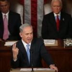 Netanyahu speaking to Congress