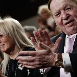 Sheldon Adelson, in Washington March 2