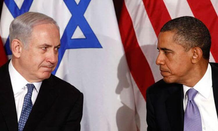 Netanyahu and Obama at the United Nations, 2011. (Photo: Kevin Lamarque/Reuters)