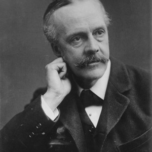 Arthur Balfour, who as Britain's Foreign Secretary in 1917 issued the Balfour Declaration to Lord Rothschild