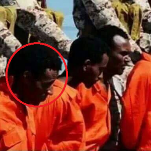 Photos of an Eritrean refugee killed in Libya after being forced out of Israel.