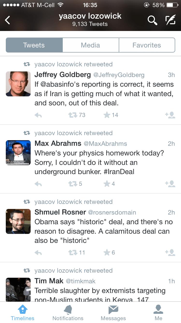 Jeffrey Goldberg doubts