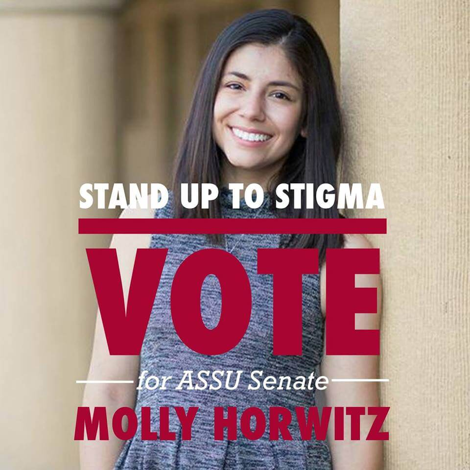 Molly Horwitz has accused a Stanford coalition of anti-Semitism. (Photo: Facebook)