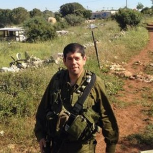 The General Director of Peace Now, Yariv Oppenheimer, is currently serving reserve military duty in the occupied West Bank. (photo: AIC)