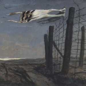 """Taleskoten,"" by Zinovii Tolkatchev, an artist in the Red Army who documented the concentration camps"