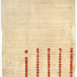 The treaty of Canandaigua, in 1794, was signed between the US government and six Indian nations. The US government has violated almost every term in the deal.