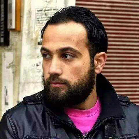 Jamal Khalifeh, killed by shelling inside of Yarmouk refugee camp. (Photo: Jafra Foundation for Youth Development and Relief)