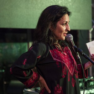 Susie Abulhawa at PalFest last June photo by Rob Stothard