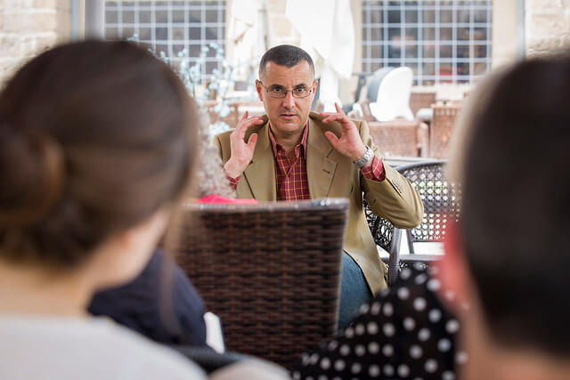 Omar Barghouti, founder of the BDS movement. (Photo: Rob Stothard)
