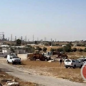 Demolition of mosque near Beersheba, from Ma'an News