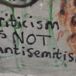 Graffiti on the Separation Wall in Bethlehem, August 2, 2012. (Photo: Neil Ward/Flickr)