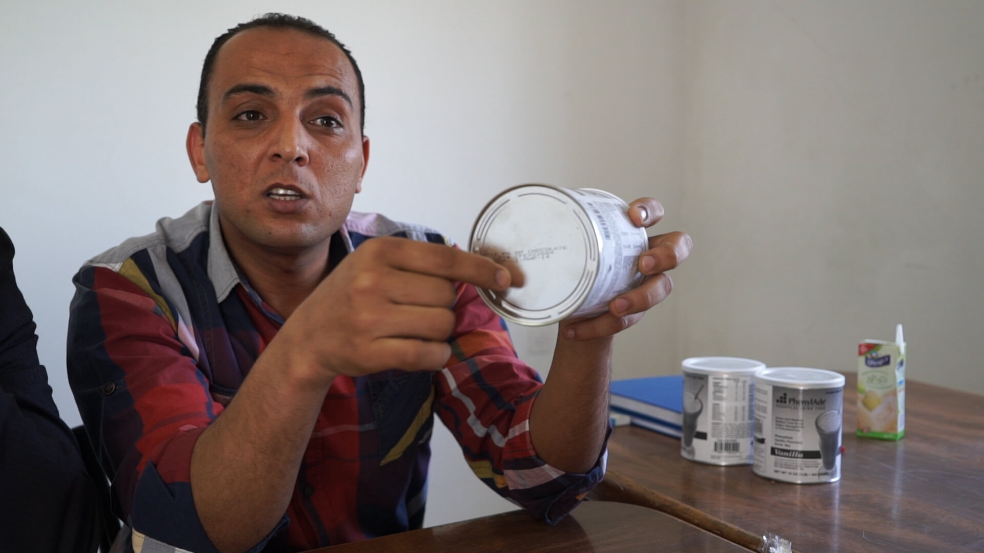 Co-founder of Brilliant Future Association Akram Asfour. (Photo: Dan Cohen)