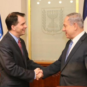 Scott Walker with Netanyahu, May 11, 2015