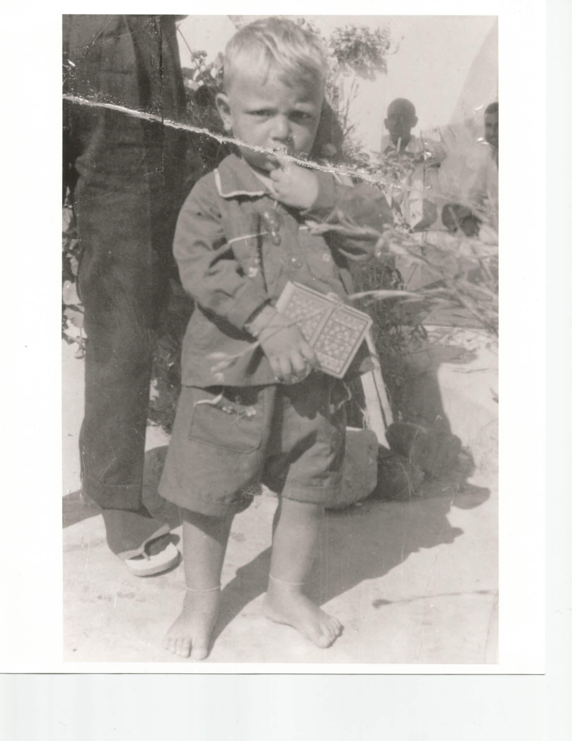My father, Ziyad, Deir al Balah refugee camp, Gaza, circa 1963