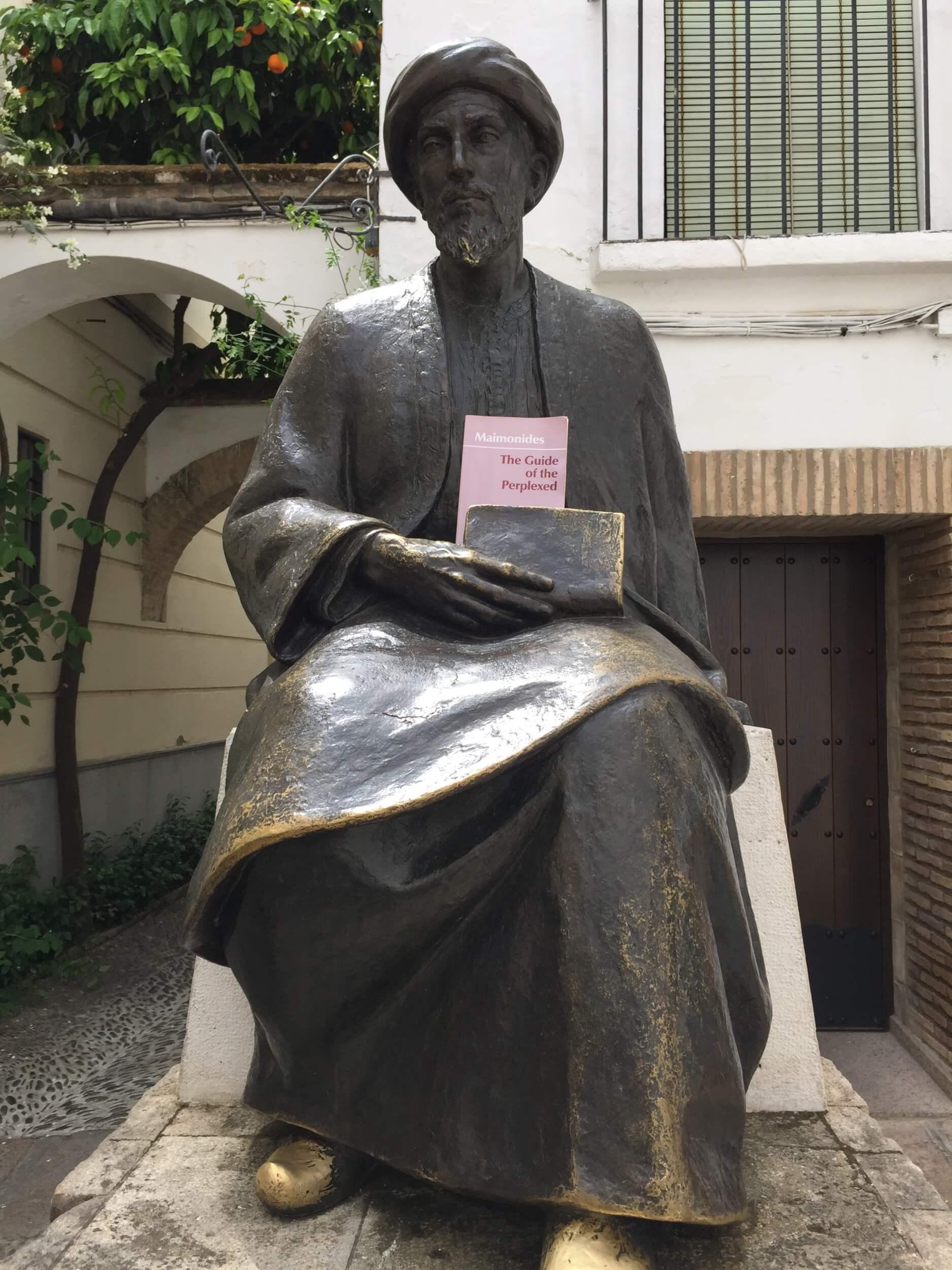 Maimonides in Cordoba. (Photo: Max Blumenthal)