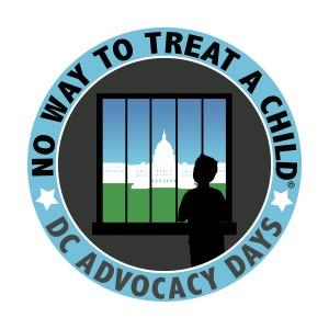 'No Way to Treat a Child' advocacy days logo