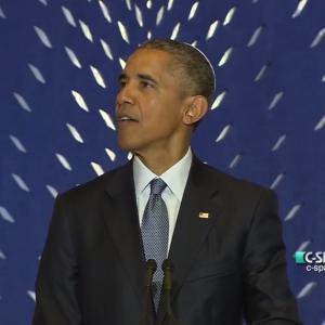 Obama at Adas Israel, May 22, 2015
