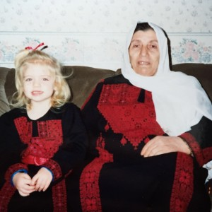 Me, Sarah Aziza, and my grandmother, circa 1993