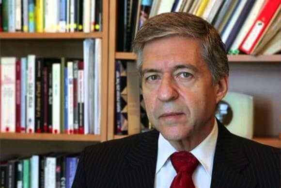 Yossi Beilin, former foreign minister for Israel