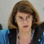 Judge Mary McGowan Davis, head of Gaza inquiry
