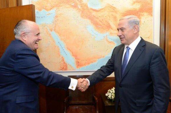 Giuliani and Netanyahu