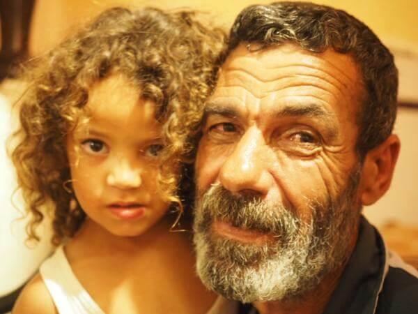 Bakr family of Gaza, photo by Dan Cohen