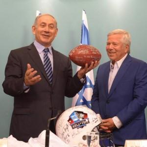 Netanyahu and Kraft, June 22, 2015