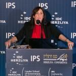 Tzipi Hotovely speaking at the 15th IDC Herzliya conference. (Erez Harodi/Osim Tsilum/IDC Herzilya)