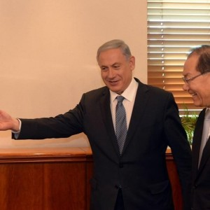 PM Netanyahu met with South Korean Deputy PM and Minister of Education Hwang Woo-yea on Wednesday afternoon, April 29. (Photo: Haim Zach/ GPO)