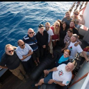 Passengers aboard the Freedom Flotilla. (Photo: Freedom Flotilla)