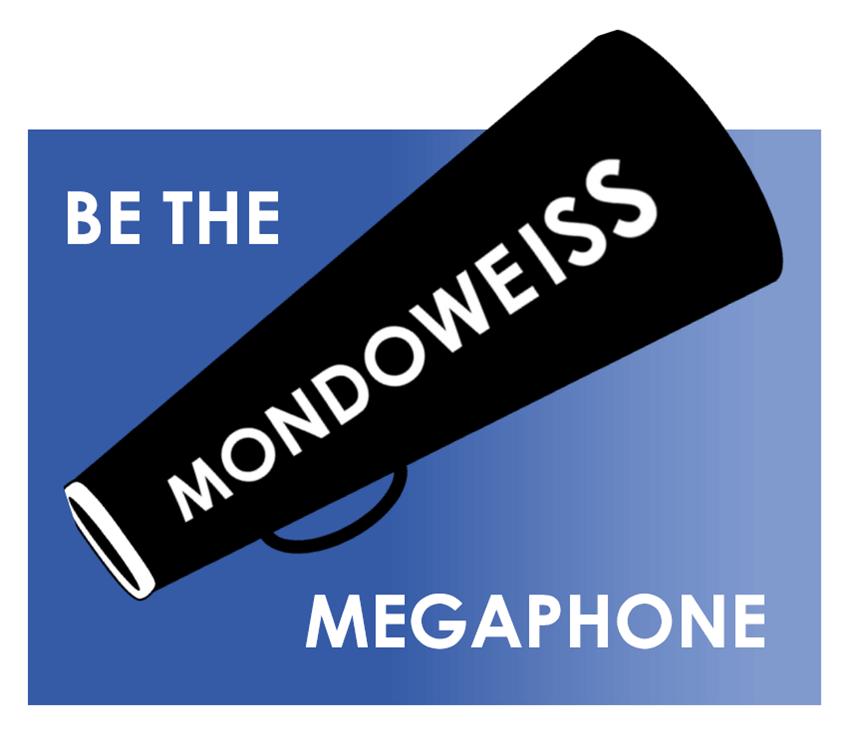 Be the Mondoweiss Megaphone