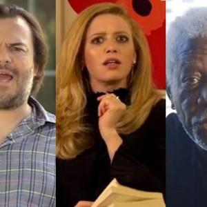 Jack Black, Natasha Lyonne, Morgan Freeman