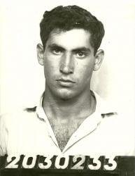 Netanyahu as an Israeli commando in late 60s.