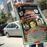 Martyr's poster for Mohammed Hani al-Kasbah, 17, killed by the Israeli military Friday morning near Qalandia checkpoint, Qalandia refugee camp. (Photo: Allison Deger)