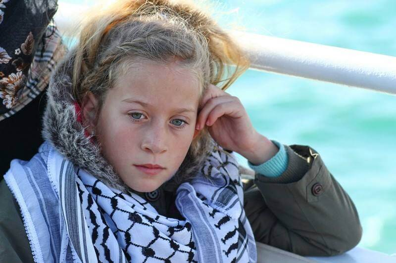 Ahed Tamimi Photo source: Facebook