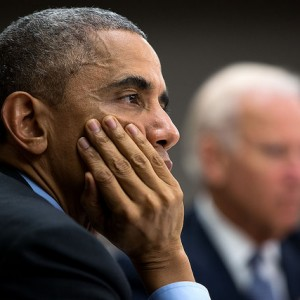 President Obama last October, photo by Pete Souza