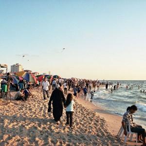 Gaza beach, 2006 (Photo: Wikimedia)