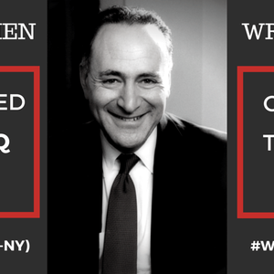 Campaign against Schumer for opposing Iran Deal
