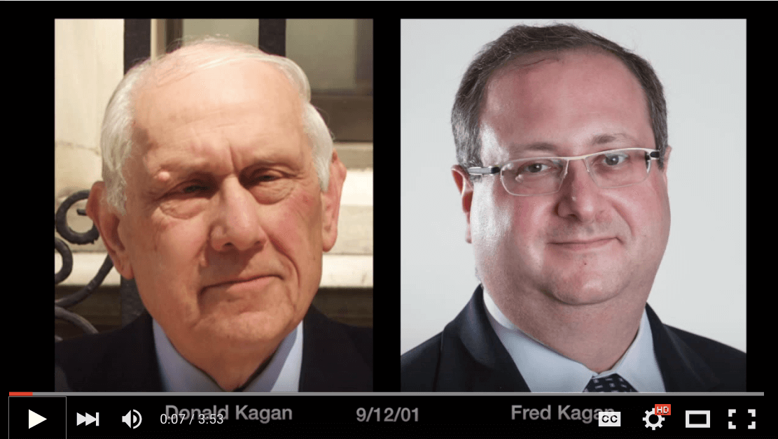Screenshot: Don and Fred Kagan