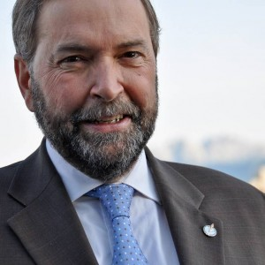 Thomas Mulcair of the New Democratic Party.