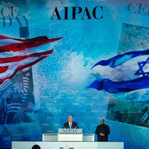 Israeli Prime Minister Netanyahu speaking at the AIPAC 2015 Policy Conference (Image: Getty Images)