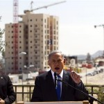 Netanyahu vows to expand the settlements during a 2015 campaign stop at Har Homa.
