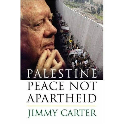 """Cover of """"Palestine: Peace Not Apartheid"""""""