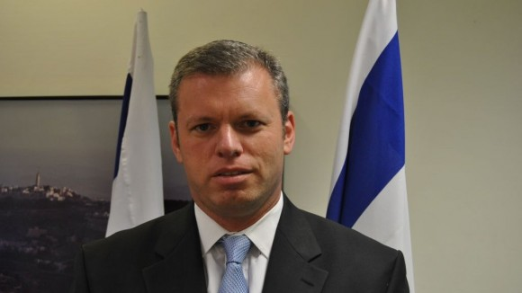 Eli Groner, photo by Israeli government press office