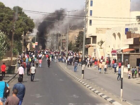 Demonstration in Bethlehem