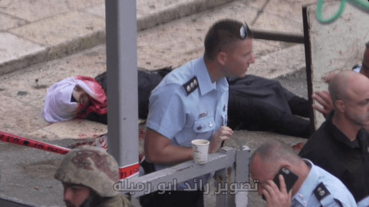Border police execute teenage girl in Hebron. October 25, 2015