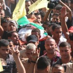 Protesters demand a response at the funeral for Ahmed Othman. (Photo: Isra Saleh El-Namy)
