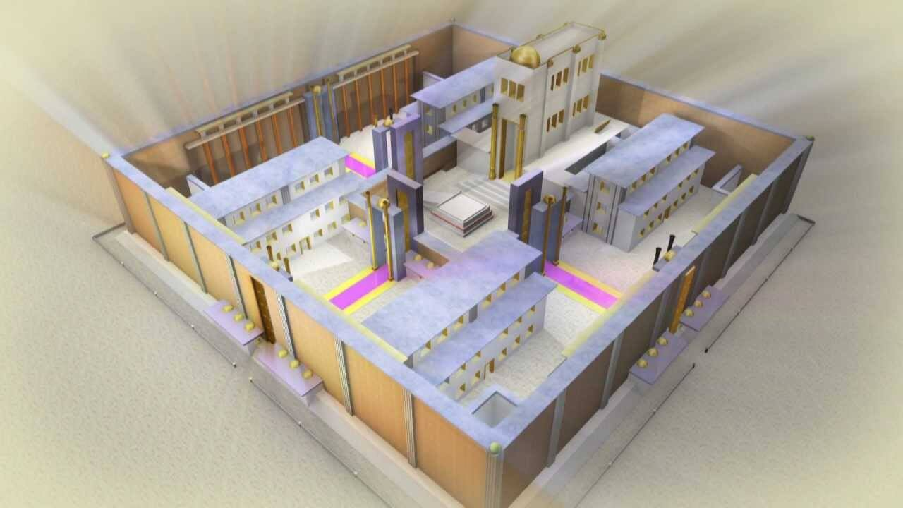 An Orthodox Jewish rendering of a vision for the Third Temple