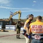 The Palestinian Health Ministry said Israeli soldiers shot Samer Hasan Seriesi, 51, who lies bleeding in photo above, at Za'tara roadblock south of Nablus. He died later. Photo from IMEMC